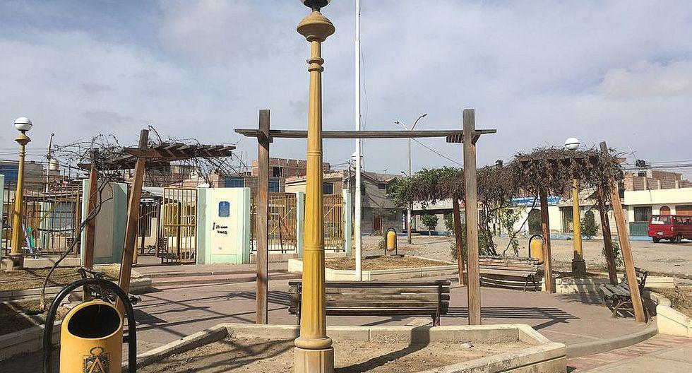 Parque de la Villa Los Próceres se queda sin áreas verdes