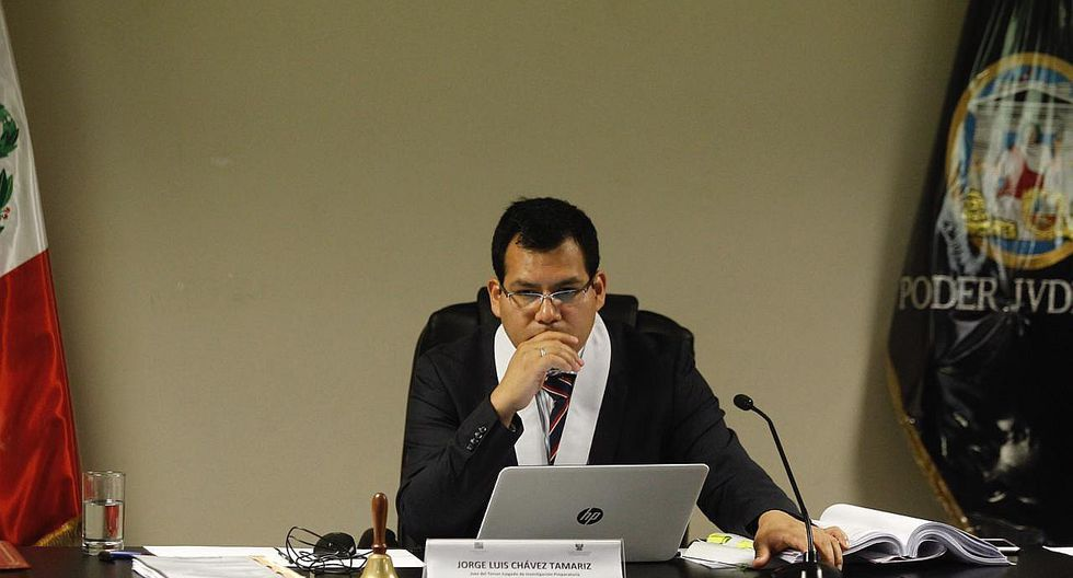 Caso Villarán: Juez Chávez Tamariz dejó al voto recusación de Lamsac en su contra