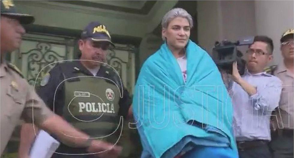 'Zorro Zupe' fue trasladado al penal de Ancón II (VIDEO)