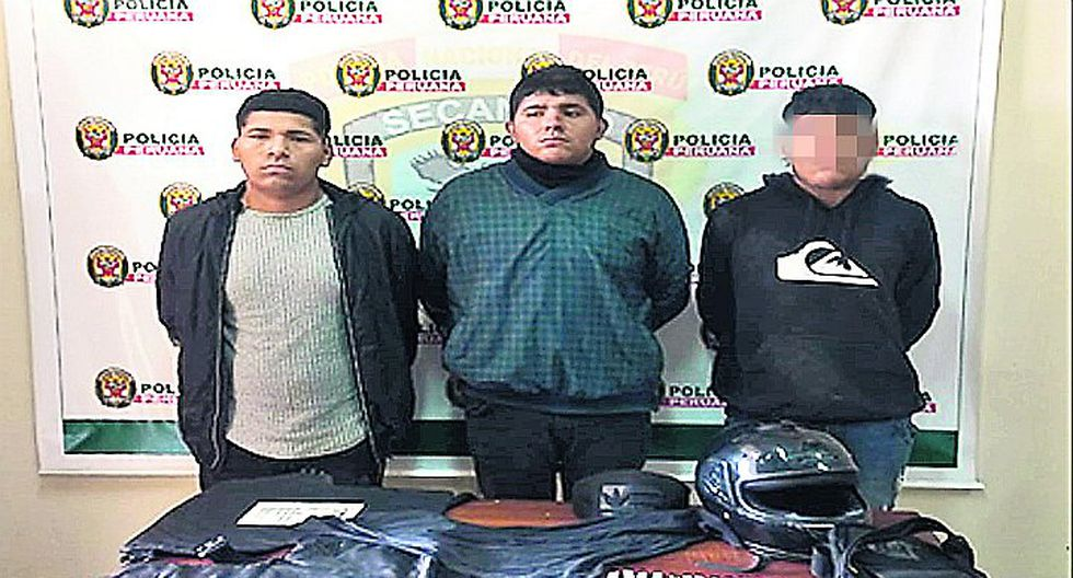 """PNP desarticula banda """"Los malditos de La Esperanza"""""""
