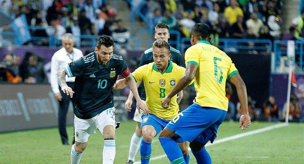 """Lionel Messi: """"siempre es bueno"""" ganar a Brasil (FOTOS)"""