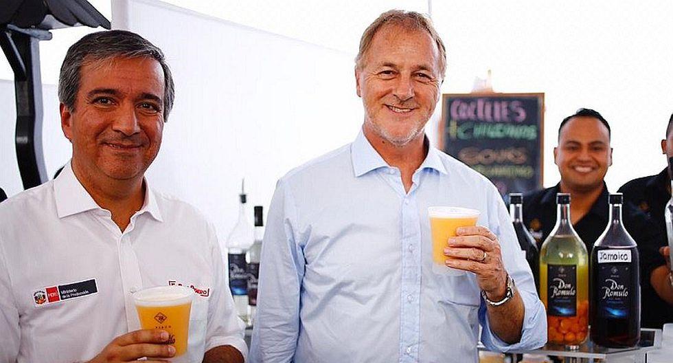 Ministro Pérez-Reyes: Producción de Pisco habría alcanzado los 6.9 millones de litros durante el 2018