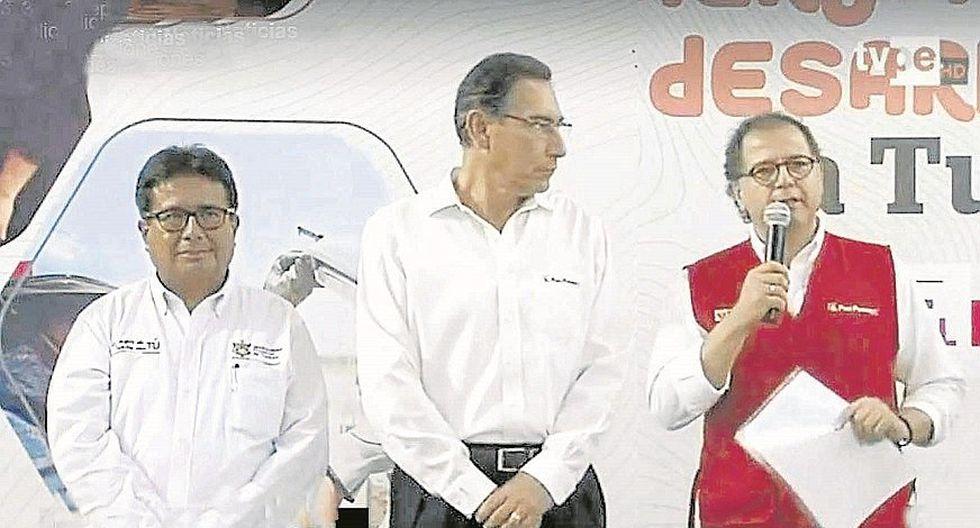 Vizcarra señala que está trabajando para concretar   la concesión de gas en Piura