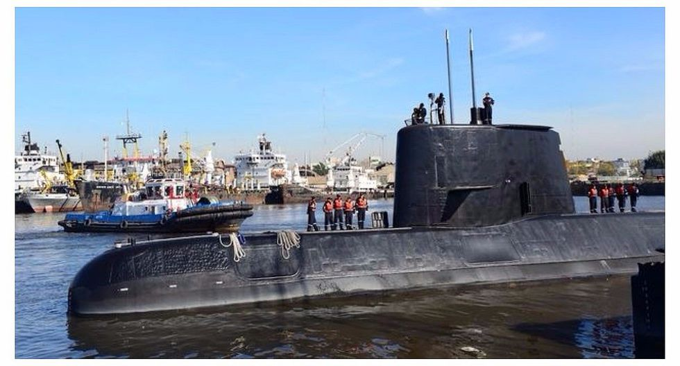 Argentina logró detectar llamadas de emergencia tras desaparición de submarino