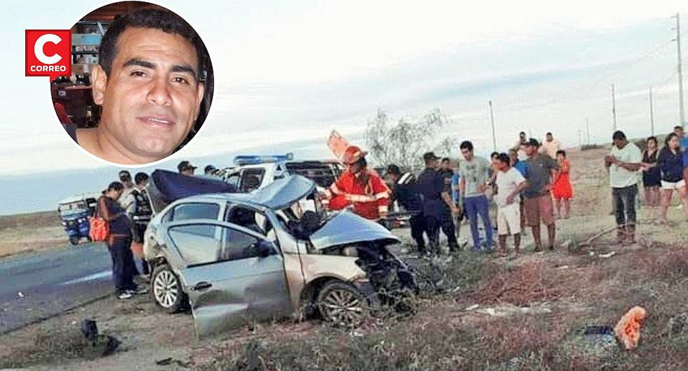 Un obrero de Petroperú muere en choque frontal de dos vehículos