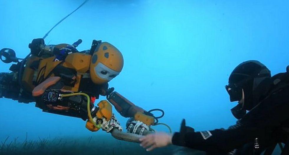 Robot humanoide es usado para recuperar tesoros de las profundidades del mar (VIDEO)