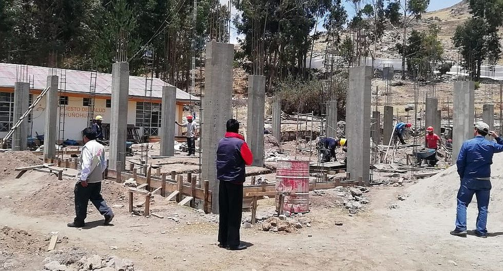 Denuncian irregularidades en ejecución de centros de salud en Antabamba