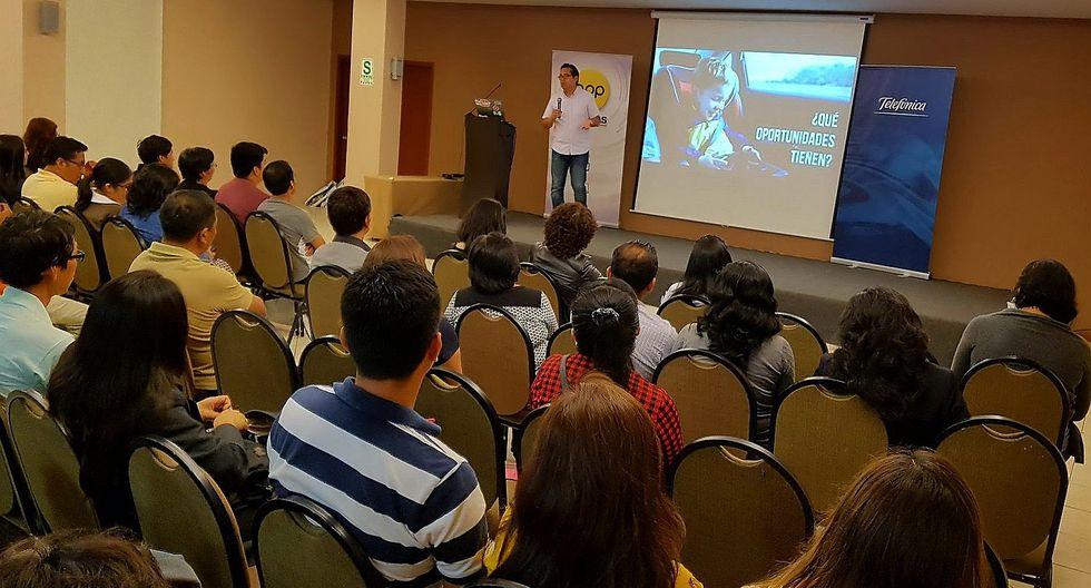 """Fundación Telefónica desarrollará taller de """"Tecnología y Educación"""" en Tacna"""