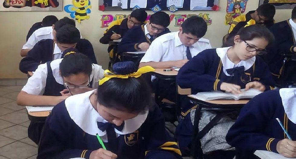 Cerca de 60 escolares de un mismo colegio de Carabayllo ingresaron con altos puntajes a universidad