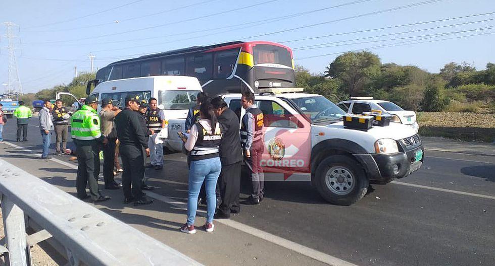 Delincuentes asesinan de un balazo a un transportista en la vía La Legua - Catacaos