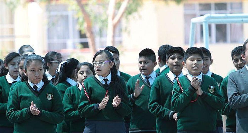 Arequipa: nuevo currículo educativo se aplicará desde mañana en 847 colegios