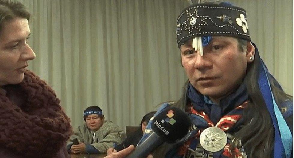 Líder mapuche saldrá 48 horas de la cárcel para renovar su espíritu (VIDEO)
