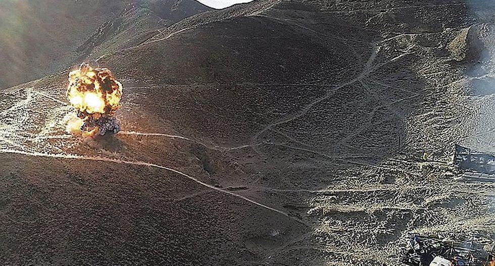 Eliminan socavones de minas ilegales