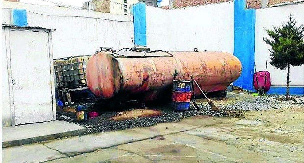 Cisterna con petróleo era bomba de tiempo en sede regional