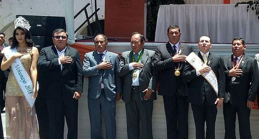 Uchumayo celebra 248 años de creación en Arequipa