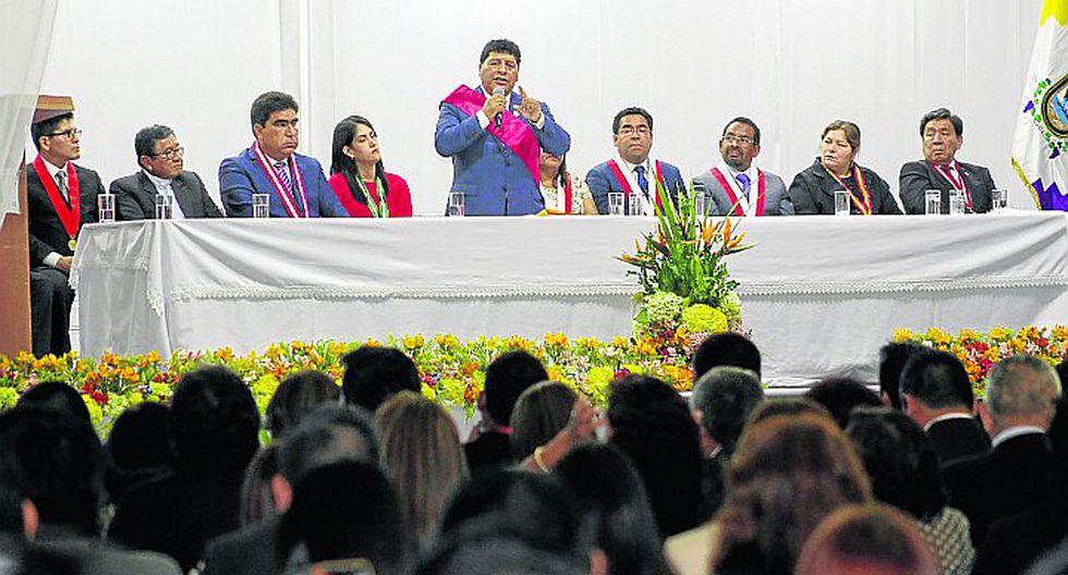 Javier Gallegos anuncia un paquete de obras para la región
