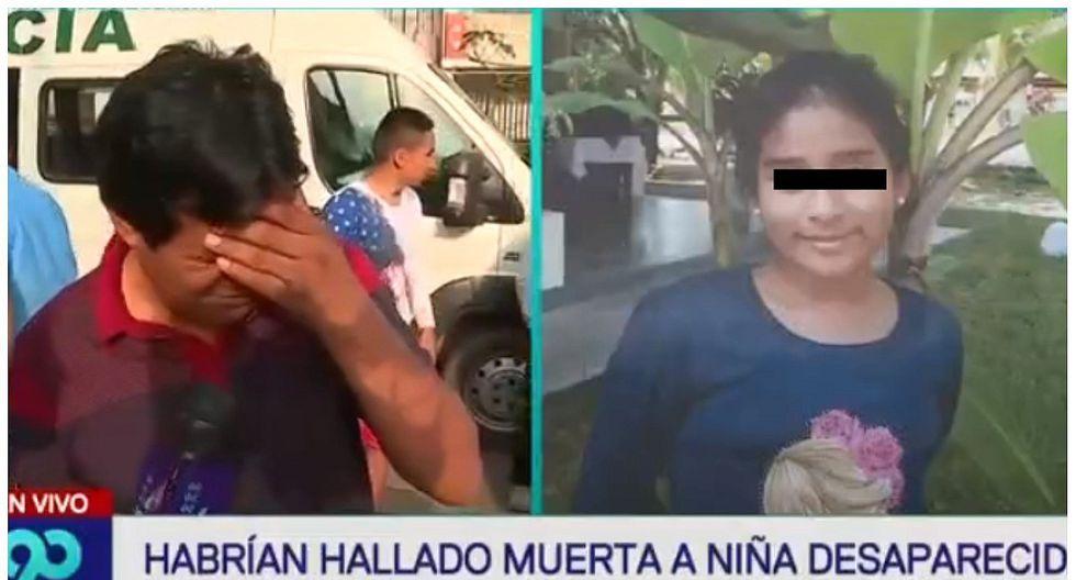 Padre de niña asesinada en SJL habría sido víctima de amenazas