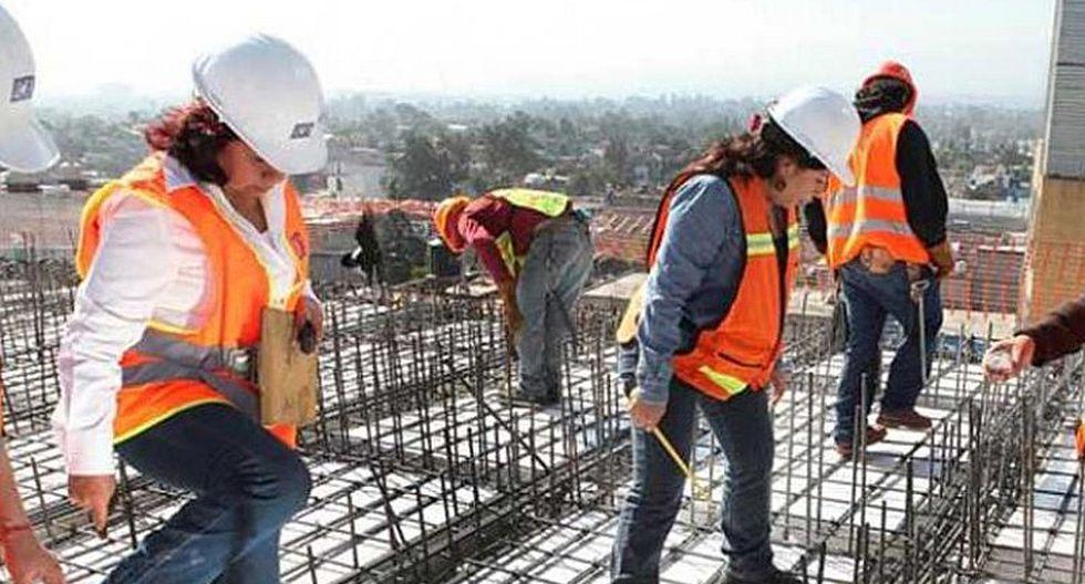 Más de 50 mil mujeres peruanas trabajan en construcción civil