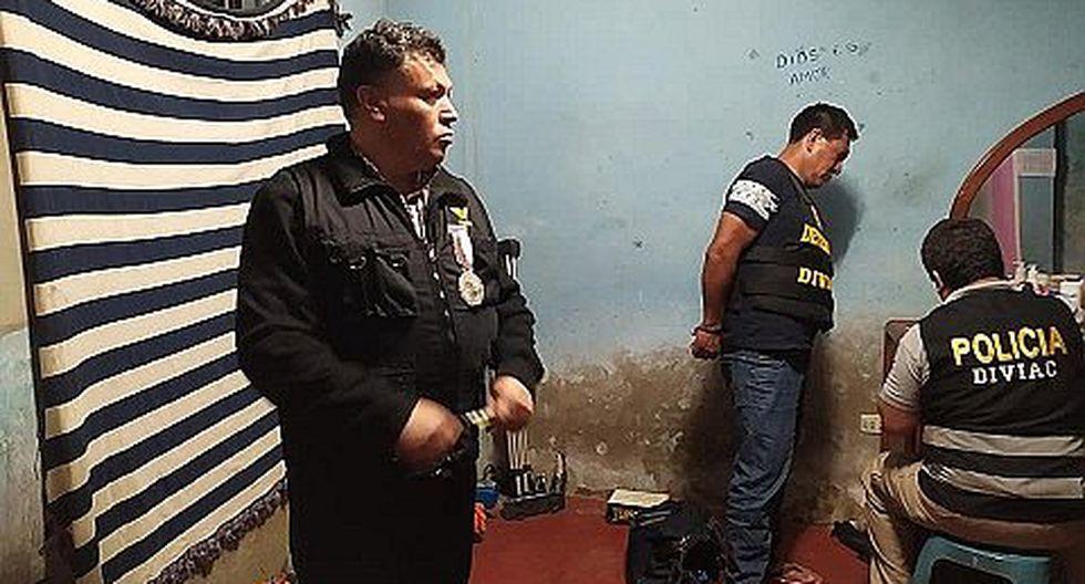 "Capturan a 12 integrantes de la red criminal ""Los Malditos de la Huaca Santa Rosa"" (VIDEO)"