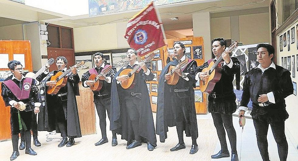 """Tuna universitaria ofrecerá concierto """"De ronda sin fronteras"""" en el Club Grau"""