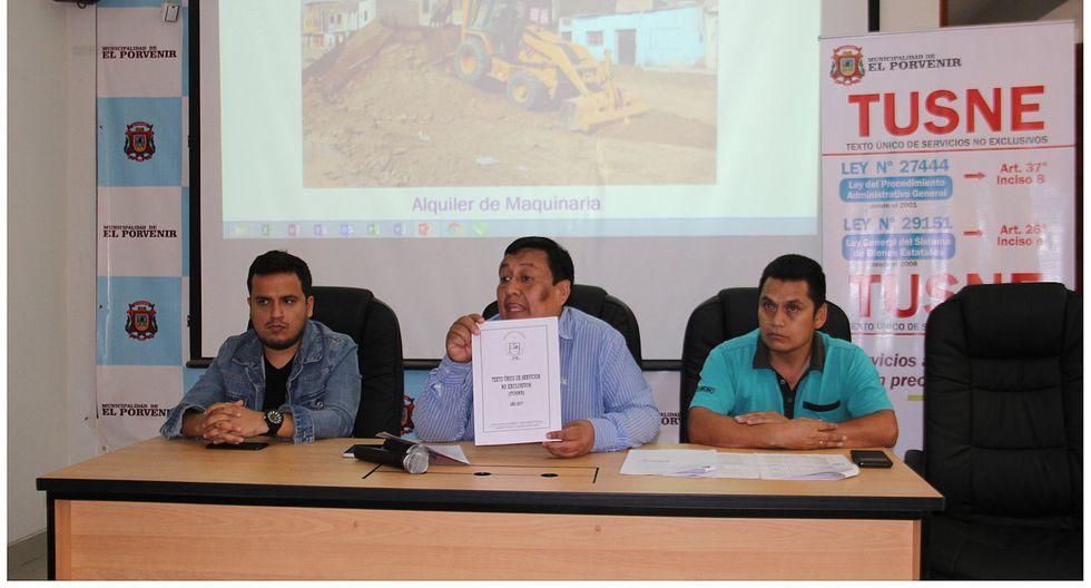 Niega alquiler de maquinaria en El Porvenir