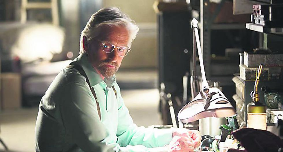 """Michael Douglas: """"""""Antes de Ant-Man no existía para mis hijos"""""""""""
