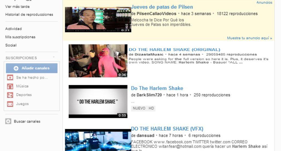 YouTube baila al ritmo del 'Harlem Shake'