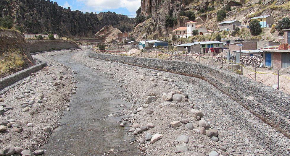 Defensa ribereña protegerá a pobladores de Espinar en Cusco