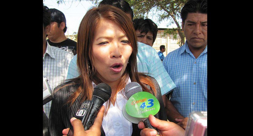 """Congresista Pilar Cordero: """"Soy cristiana y debo asistir al necesitado"""""""