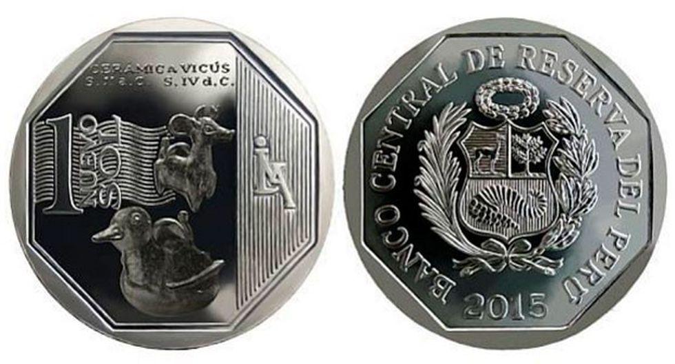 BCR pone en circulación nueva moneda de S/.1 alusiva a la cerámica Vicús