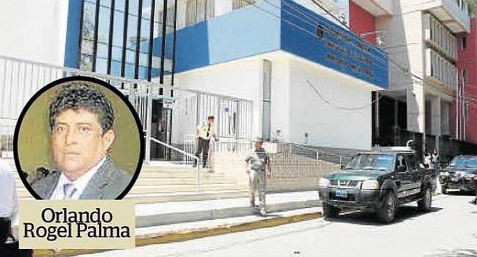 Jueza dispone comparecencia para el fiscal Rogel Palma