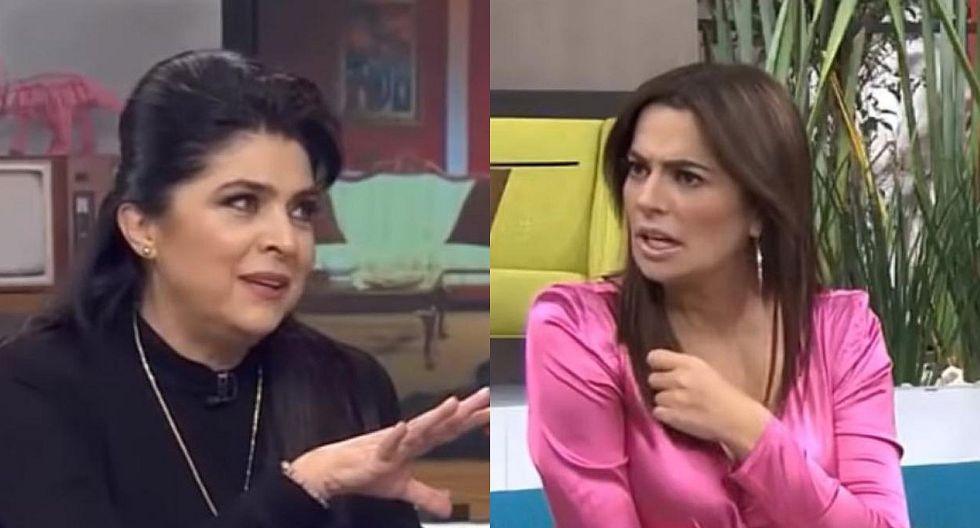 Victoria Ruffo corrigió en vivo a conductora que dijo que el pisco es chileno (VIDEO)