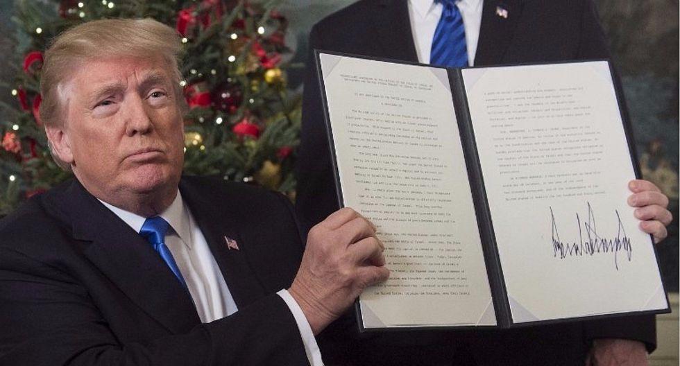 Tres datos importantes sobre el caso de Jerusalén y Donald Trump