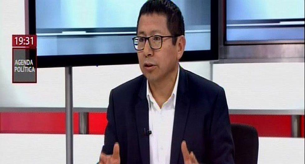 Edmer Trujillo sobre Olaechea: No se trata si es o no usurpador, sino lo que diga el TC